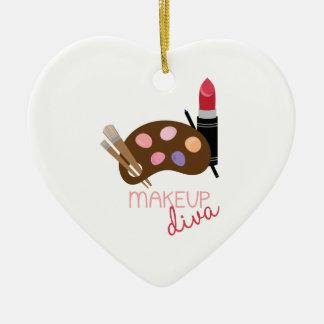 Makeup Diva Ceramic Ornament