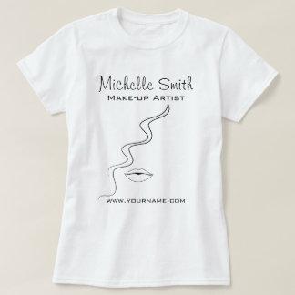 Makeup fashion face icon artist  branding T-Shirt