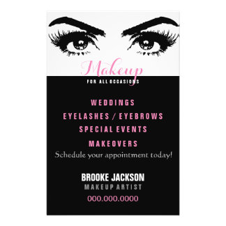 Makeup - for all occasions - Flyer