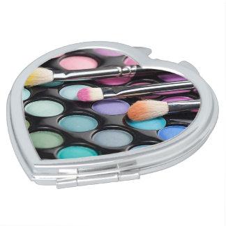 Makeup Love Mirror Travel Mirrors