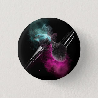 Makeup Lovers 1 Inch Round Button
