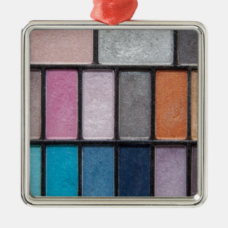 Makeup on the Go Metal Ornament