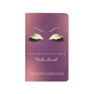 Makeup Stylist Branding Beauty Salon Copper Gold Journal