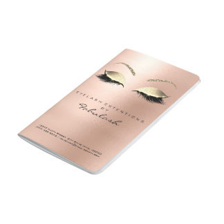Makeup Stylist Branding Beauty Salon Skinny Gold Journal