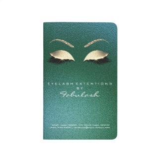 Makeup Stylist Branding Beauty Salon Tropical Gold Journal