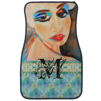 MakeUpArt Monogram Car Mat Set