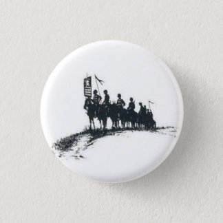 Makhno's Anarchist Army 1 Inch Round Button