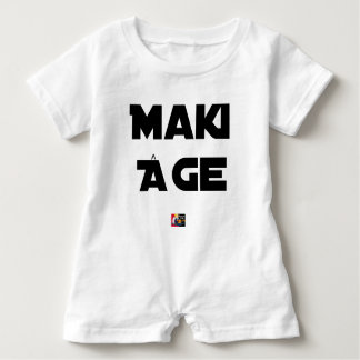 MAKI AGE - Word games - François City Baby Romper