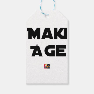 MAKI AGE - Word games - François City Gift Tags
