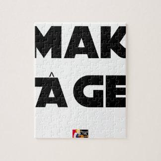 MAKI AGE - Word games - François City Jigsaw Puzzle