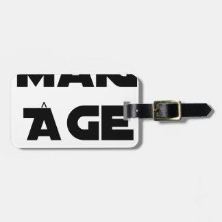 MAKI AGE - Word games - François City Luggage Tag