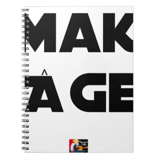 MAKI AGE - Word games - François City Notebook