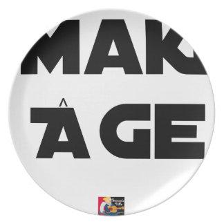 MAKI AGE - Word games - François City Plate