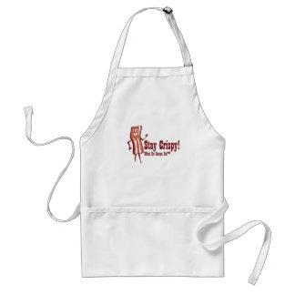 Makin' Bacon! Stay Crispy! Apron