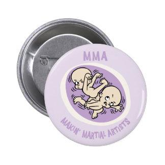Makin' Martial Artists 2 Inch Round Button