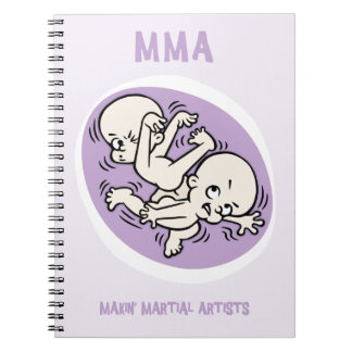 Makin' Martial Artists Notebook