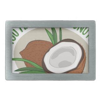 Makin Me Coconuts Belt Buckle