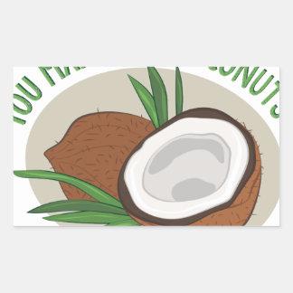 Makin Me Coconuts Sticker