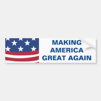 Making America Great Again Bumper Sticker