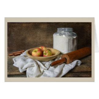 Making an Apple Pie Card