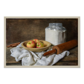Making an Apple Pie Poster