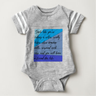 making friends baby bodysuit