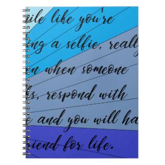 making friends notebook