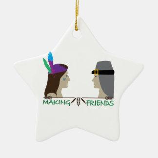 Making Friends Ornaments