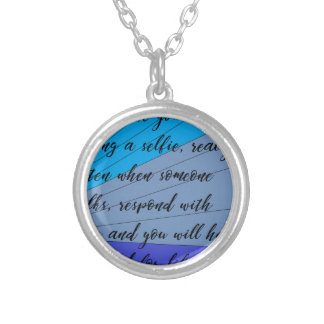 making friends silver plated necklace