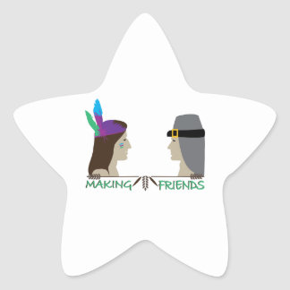 Making Friends Star Stickers