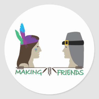 Making Friends Stickers