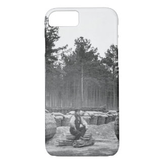 Making gabions, lines of investment_War Image iPhone 7 Case