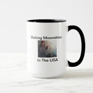 MAKING MOONSHINE IN THE USA MUG