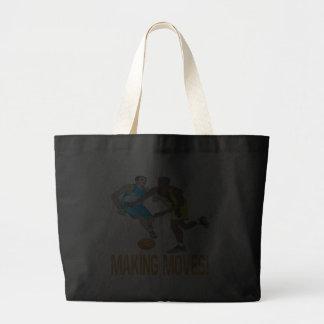 Making Moves Jumbo Tote Bag