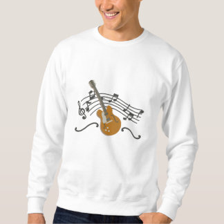 Making Music Guitar Embroidered Sweatshirt
