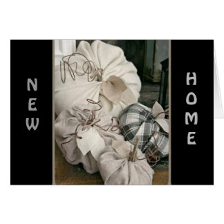 """MAKING NEW MEMORIES IN """"YOUR NEW HOME"""" GREETING CARD"""
