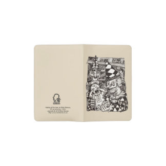 Making of the Man, by Brian Benson Pocket Moleskine Notebook