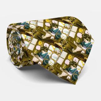 Making Paper Fans in Old Japan Vintage Uchiwa Tie