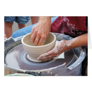 Making Pottery Card