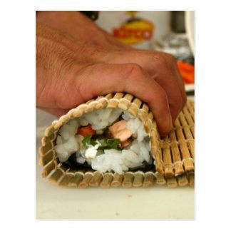 Making Sushi Postcard