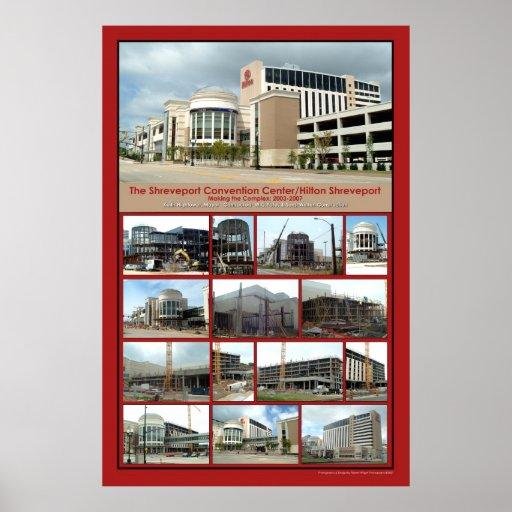 Making the Shreveport Convention Center/Hilton Print