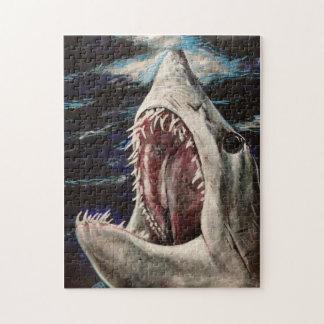 Mako Shark Painting Puzzle