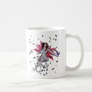 Mala Ve' Butterfly *plain* Coffee Mug