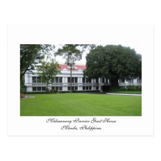 Malacanang Premier Guest Hse, MNL,Phil.. Postcard
