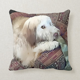 MALACHI heARTdog Whoodle pillow