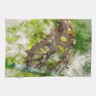 malachit butterfly kitchen towel