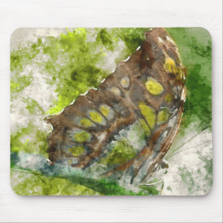 malachit butterfly mouse pad