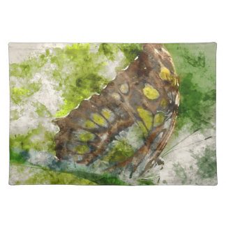 malachit butterfly placemat