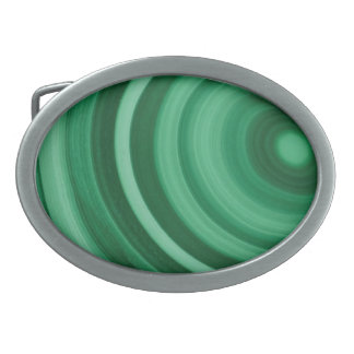 Malachite green marble stone belt buckle