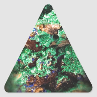 Malachite Lapis Azurite Gems Gemology Rock Triangle Sticker